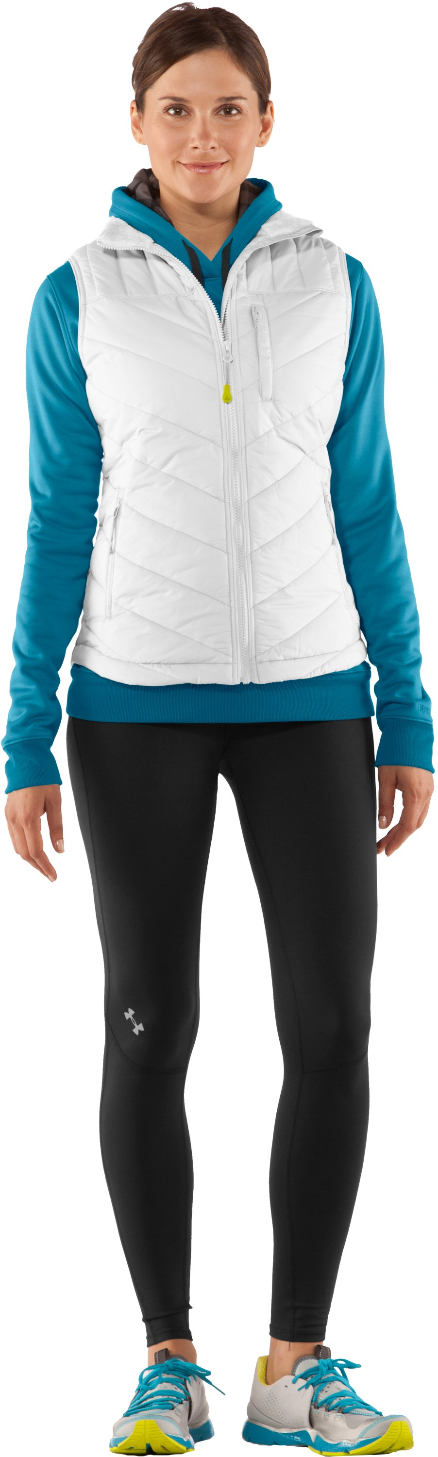 Women's UA Storm Rivalry Vest, White, zoomed image