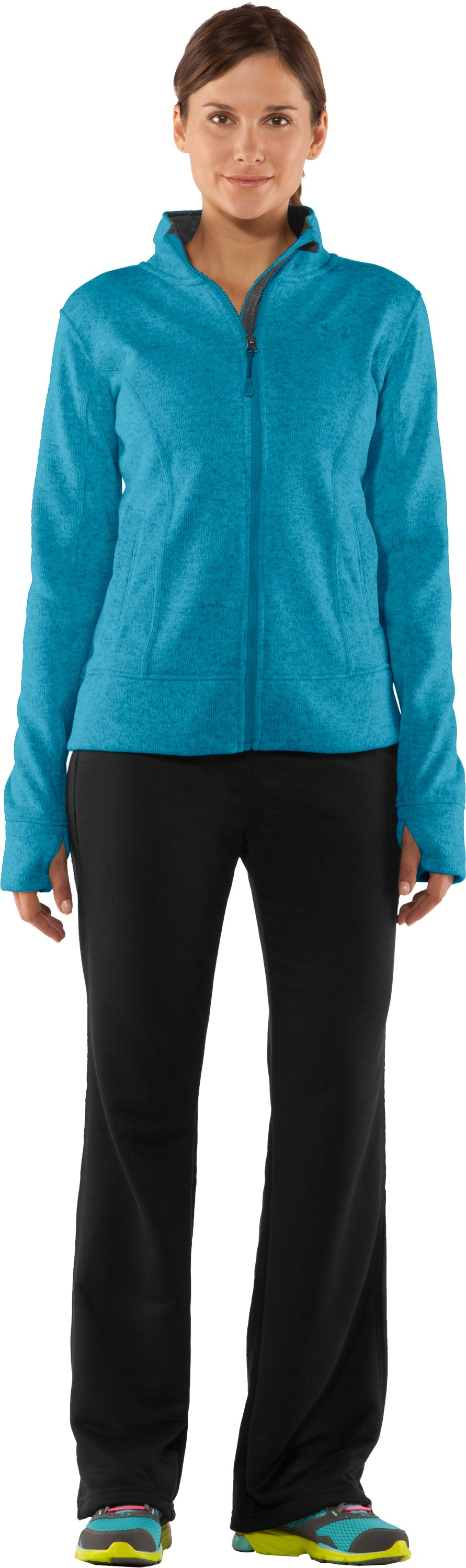 Women's UA Storm Rally Jacket, Break, Front