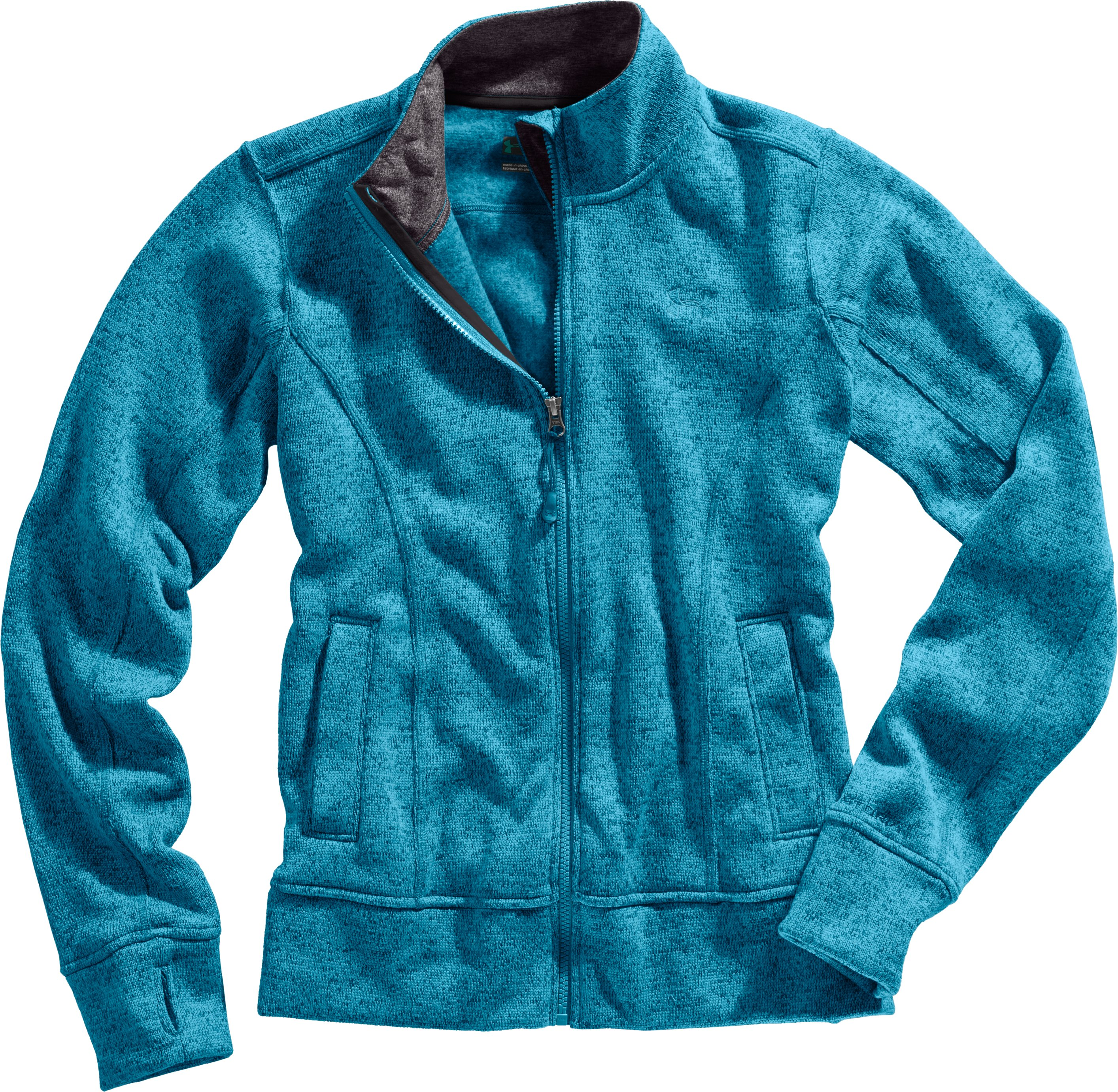 Women's UA Storm Rally Jacket, Break, Laydown