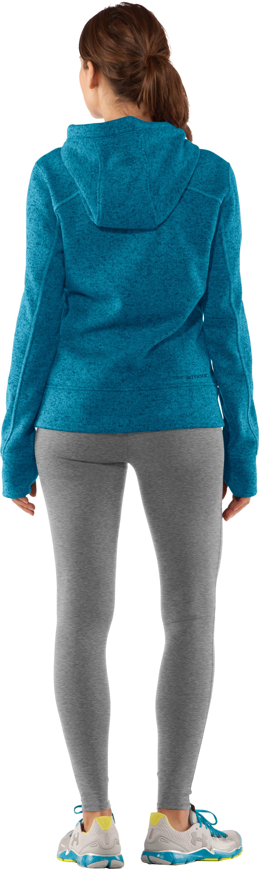 Women's UA Storm Rally Hoodie, Break, Back