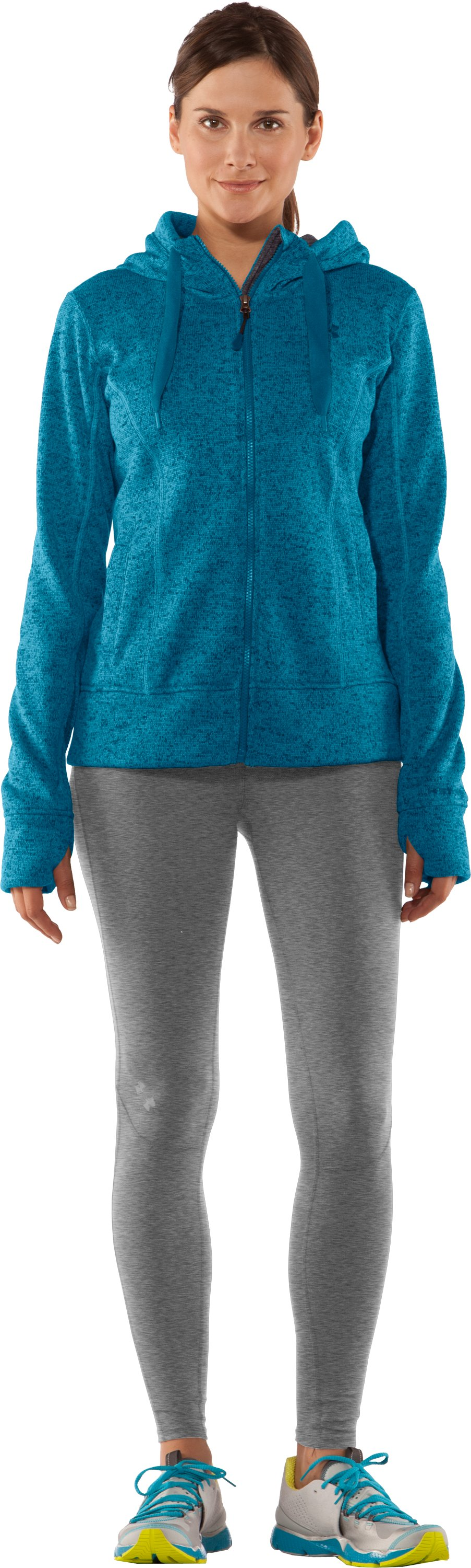 Women's UA Storm Rally Hoodie, Break, Front