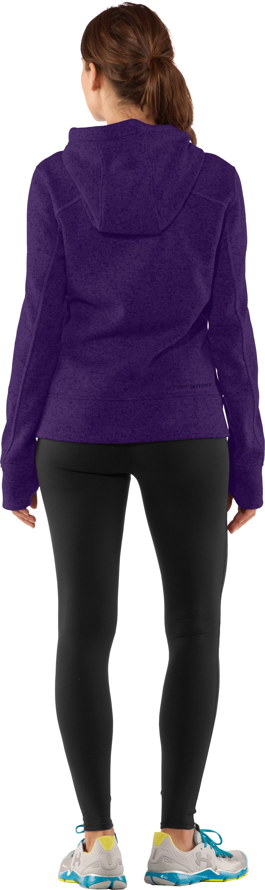 Women's UA Storm Rally Hoodie, Zone, Back