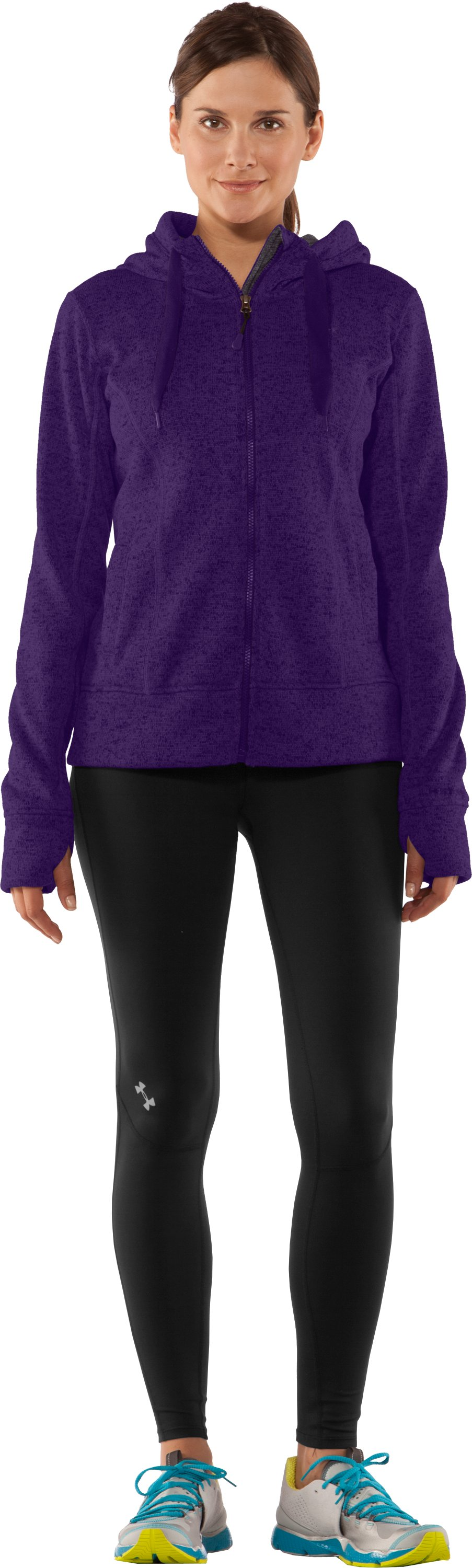 Women's UA Storm Rally Hoodie, Zone, Front