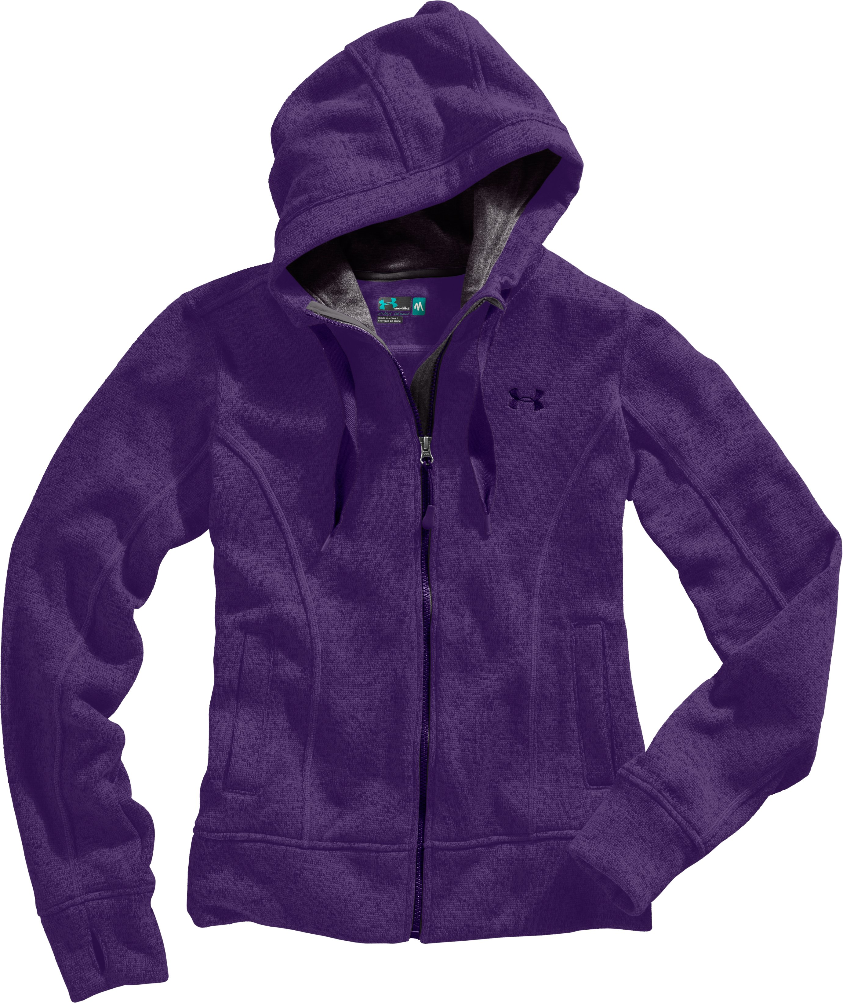 Women's UA Storm Rally Hoodie, Zone, Laydown