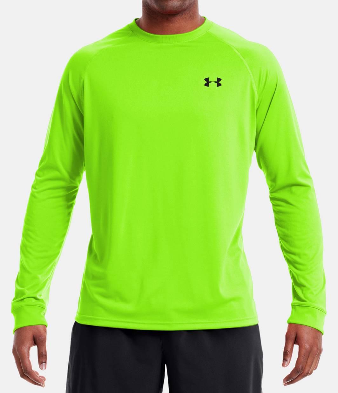 Mens Green Long Sleeve T Shirt Custom Shirt
