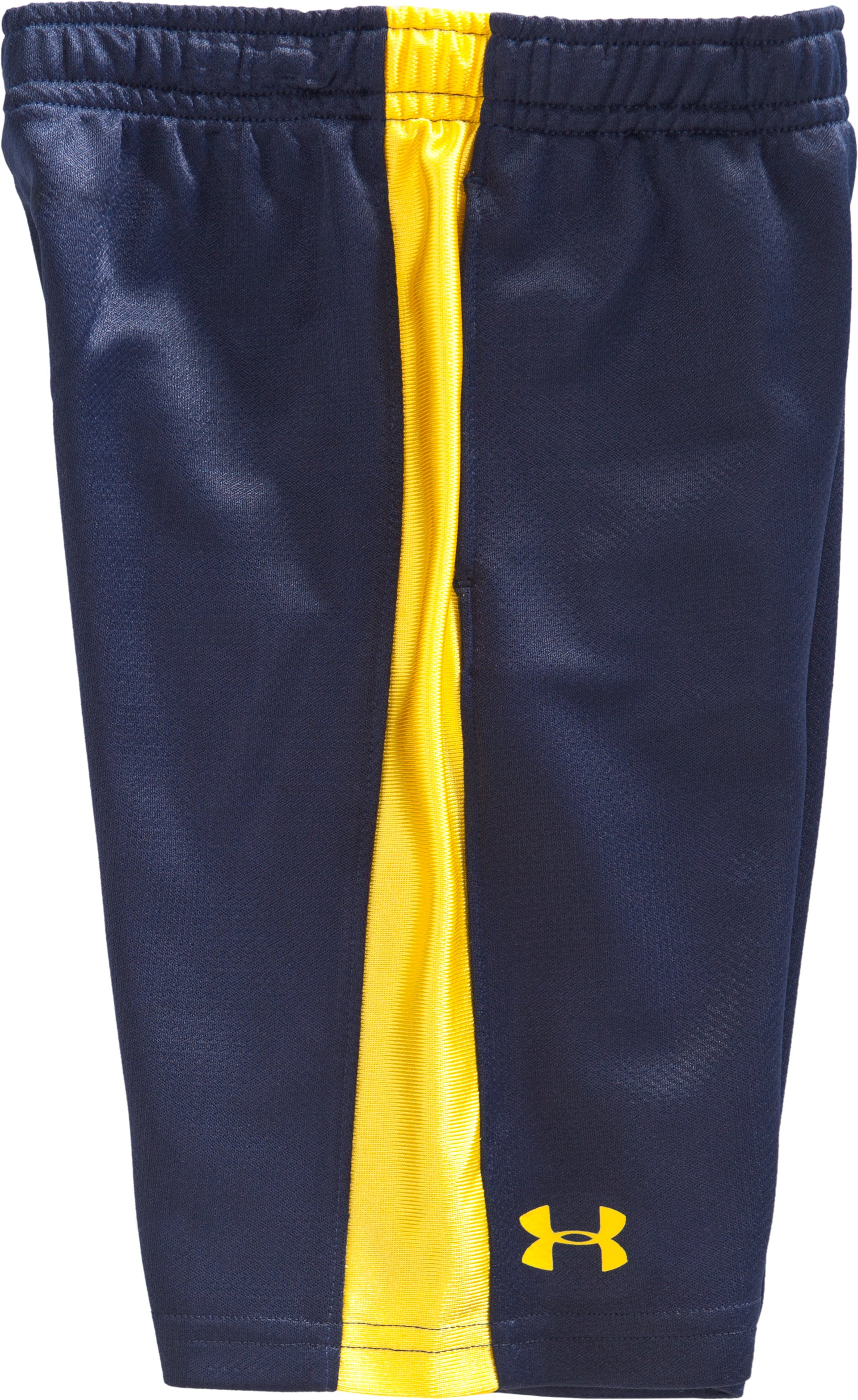 Boys' Toddler UA Ultimate Shorts, Midnight Navy, Laydown