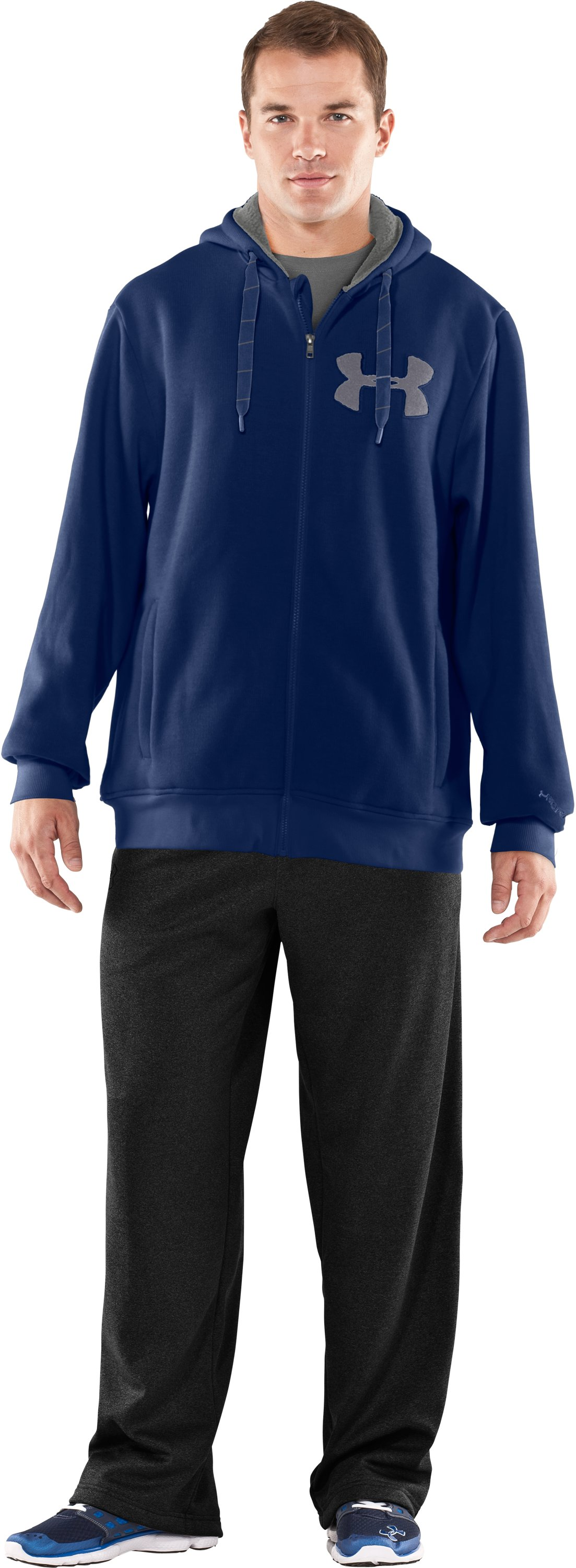 Men's UA Rally Storm Hoodie, Evening, zoomed image