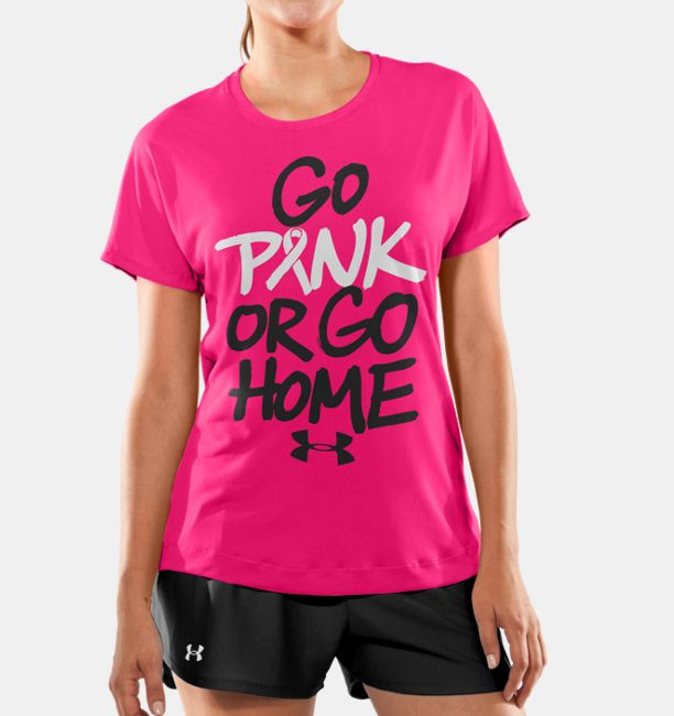 Women's PIP® UA Go Pink Or Go Home T-Shirt | Under Armour US