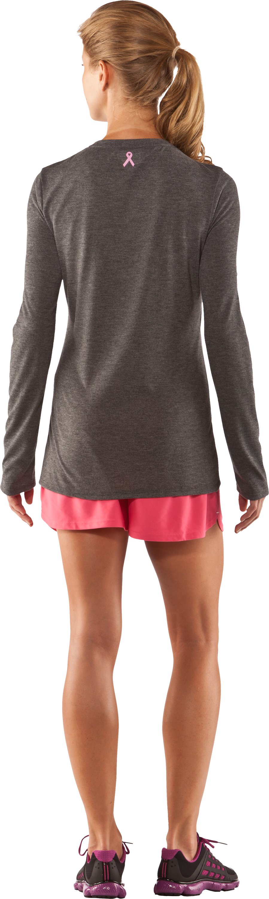 Women's PIP® I Race For Long Sleeve, Carbon Heather, Back