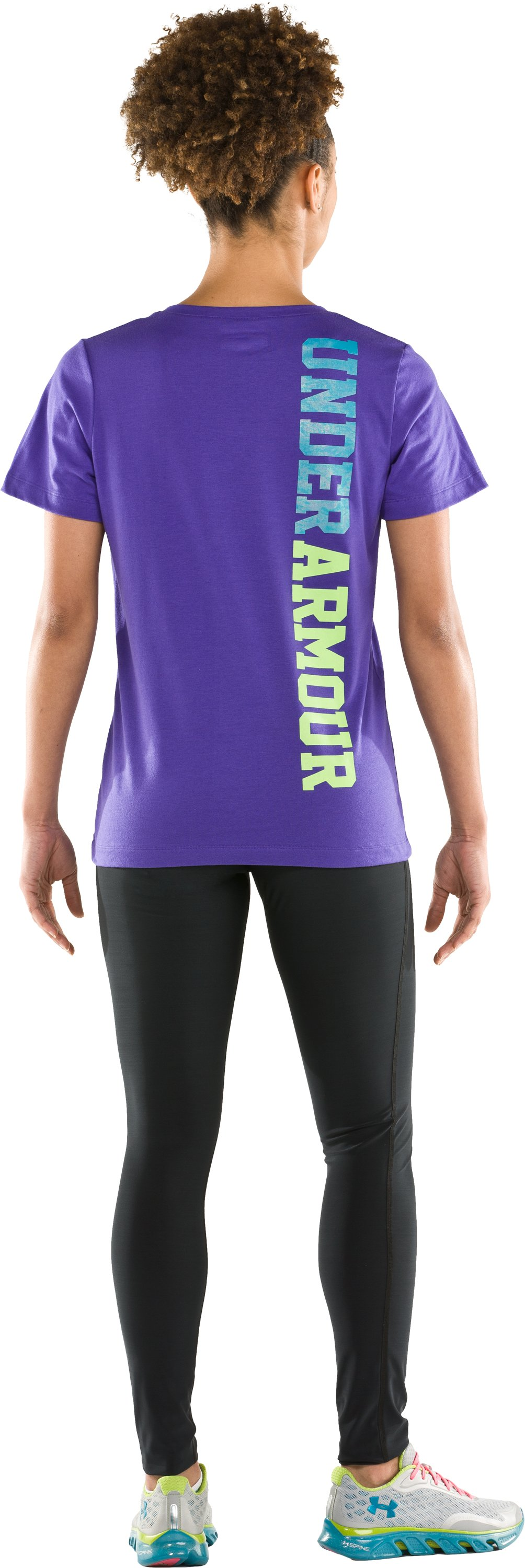 Women's Under Armour® Prismatic V-Neck, Pluto, Back