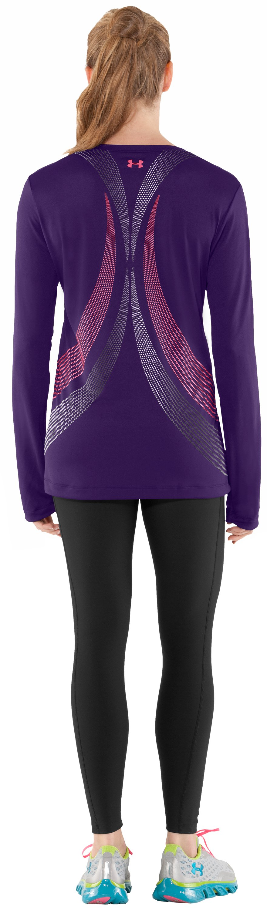 Women's UA Run Long Sleeve, Zone, Back