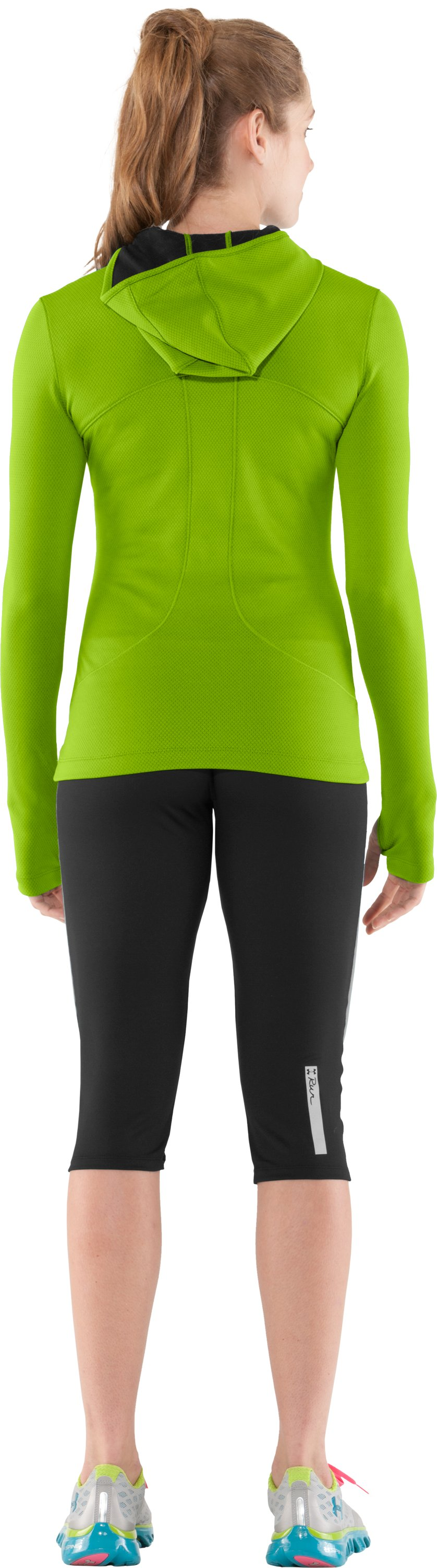 Women's ColdGear® Thermo Hoodie, Fusion, Back