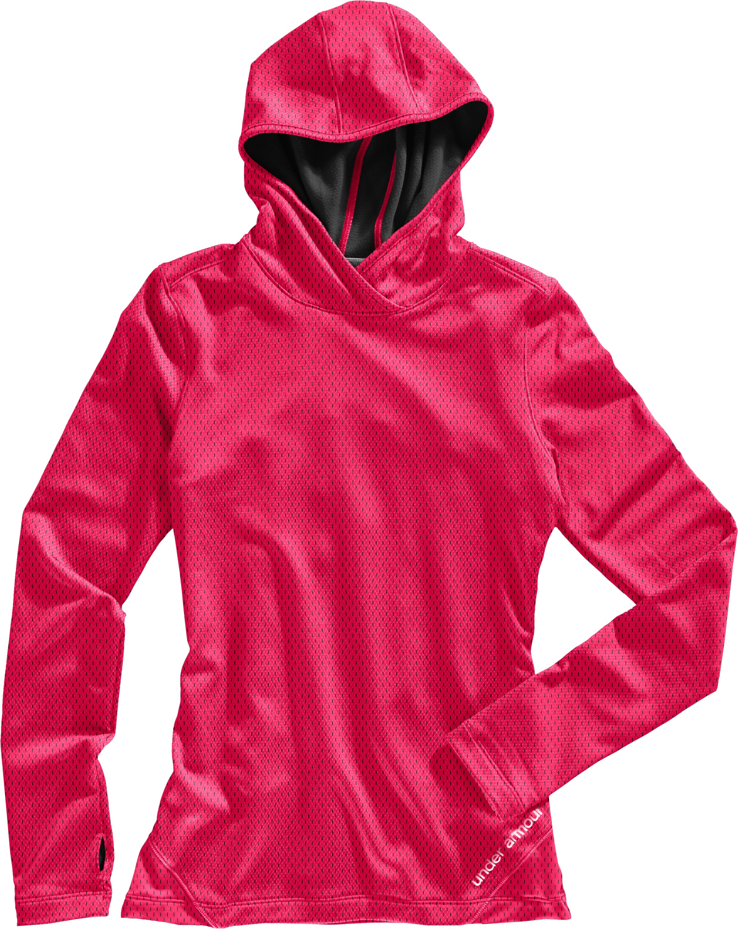 Women's ColdGear® Thermo Hoodie, Neo Pulse, Laydown