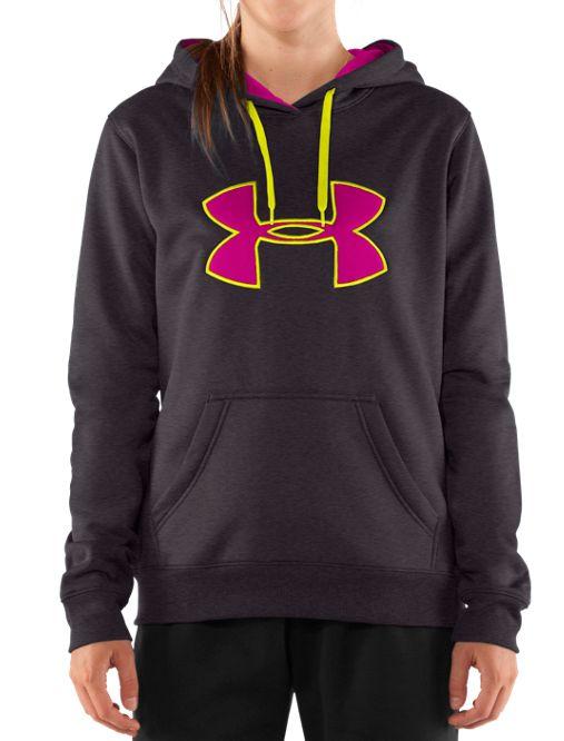 info for 7fa99 41ced Women s Armour® Fleece Storm Big Logo Hoodie