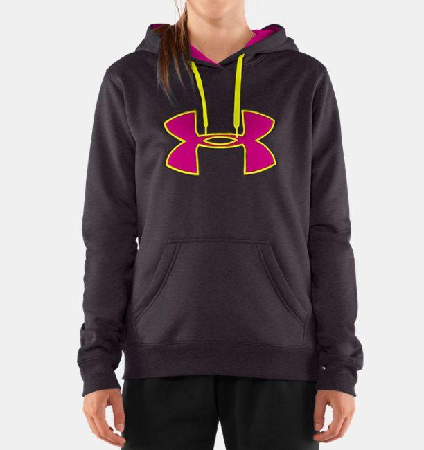 Women s Armour® Fleece Storm Big Logo Hoodie  f671df1e25