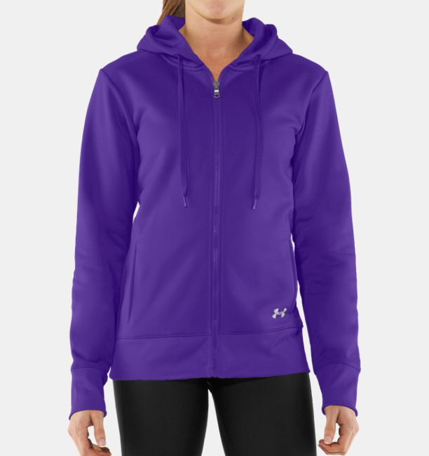 97587d53510d Women s Armour® Fleece Storm Full Zip Hoodie