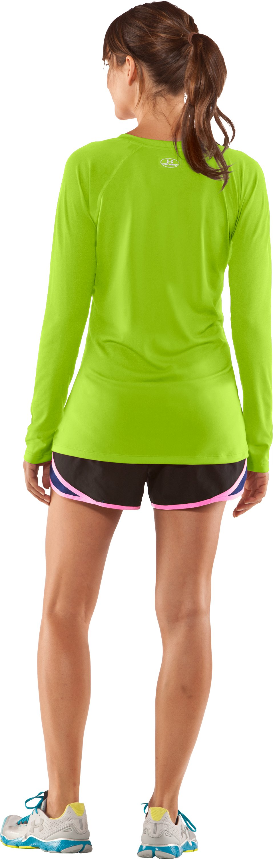 Women's UA Tech™ Long Sleeve, Fusion, Back