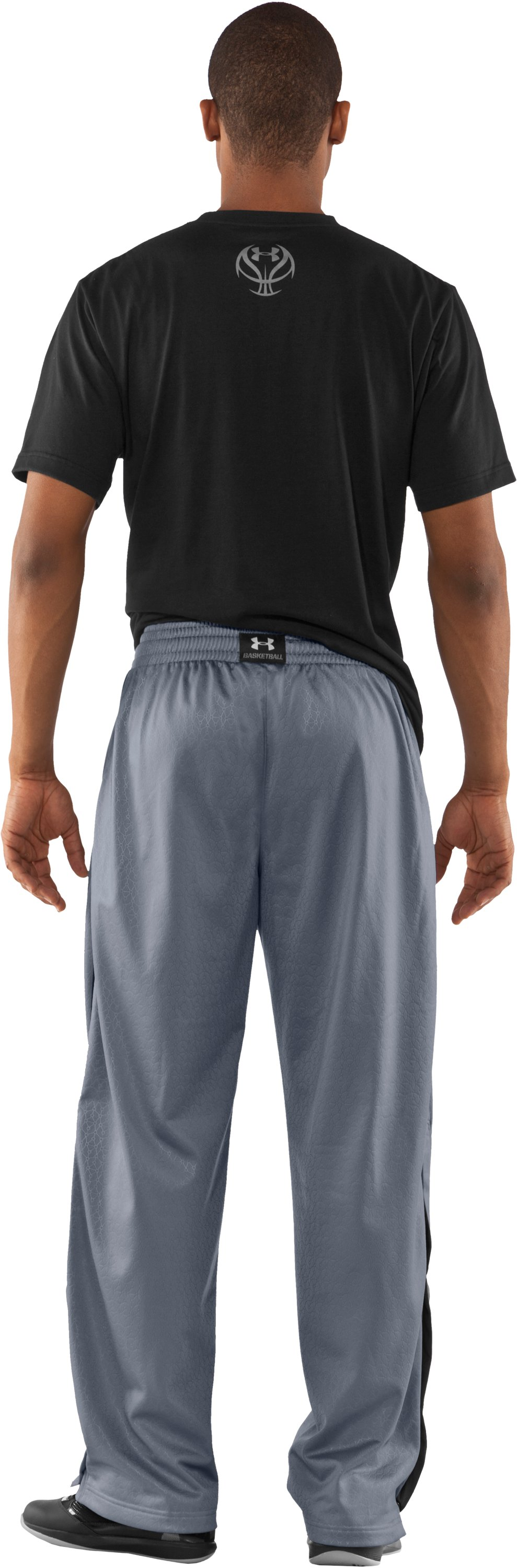 Men's UA Pledge Pants, Steel, Back