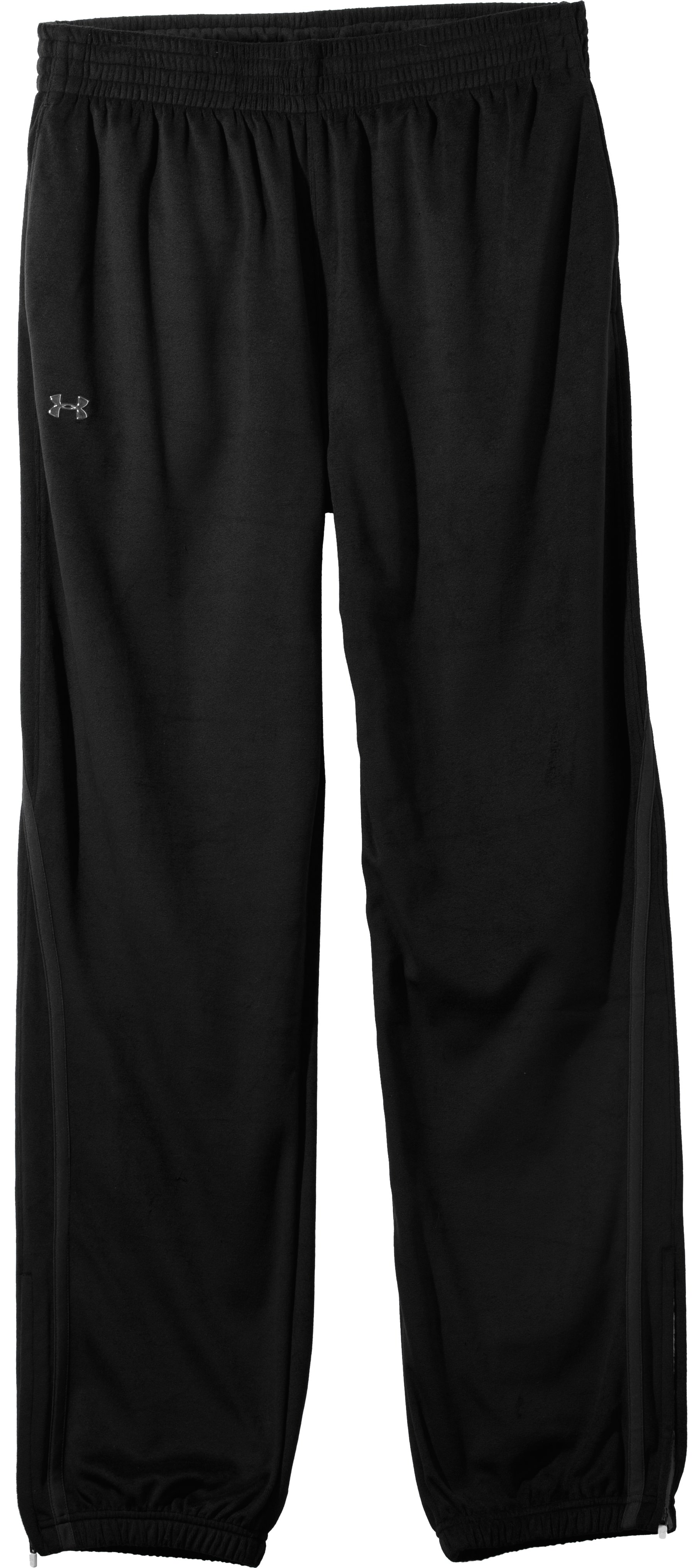 Men's UA Business Warm-Up Pants, Black , Laydown