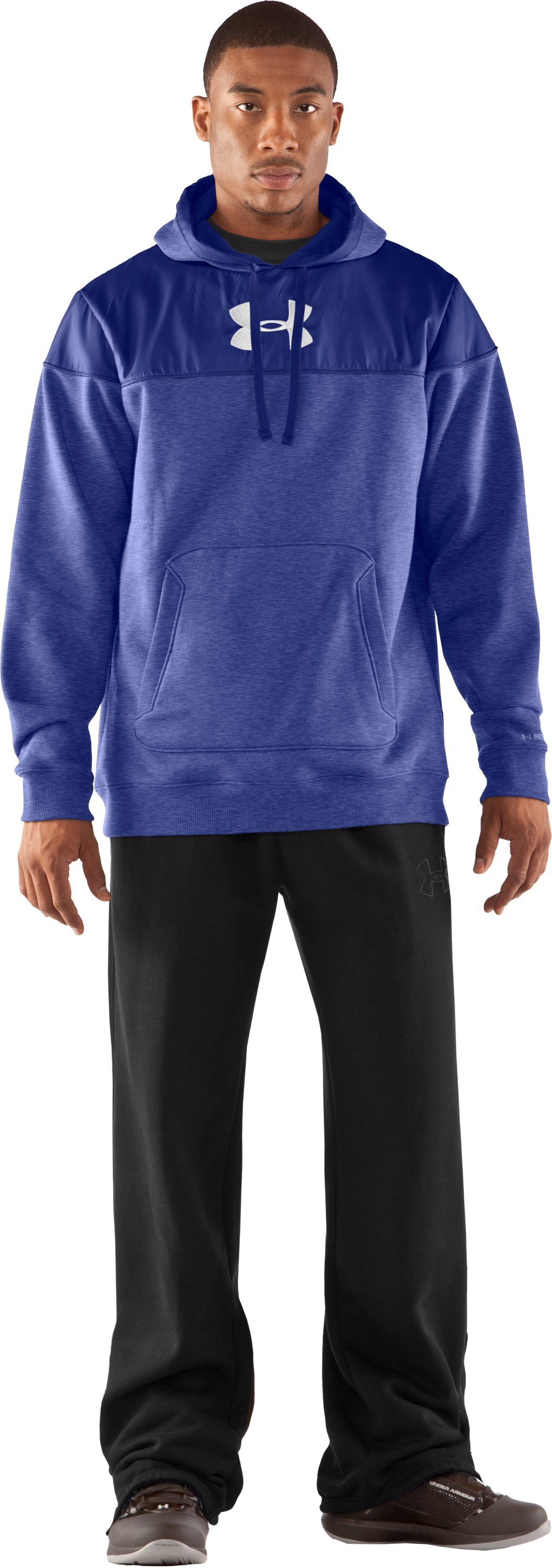 Men's UA Call Me Hoodie, Royal, zoomed image