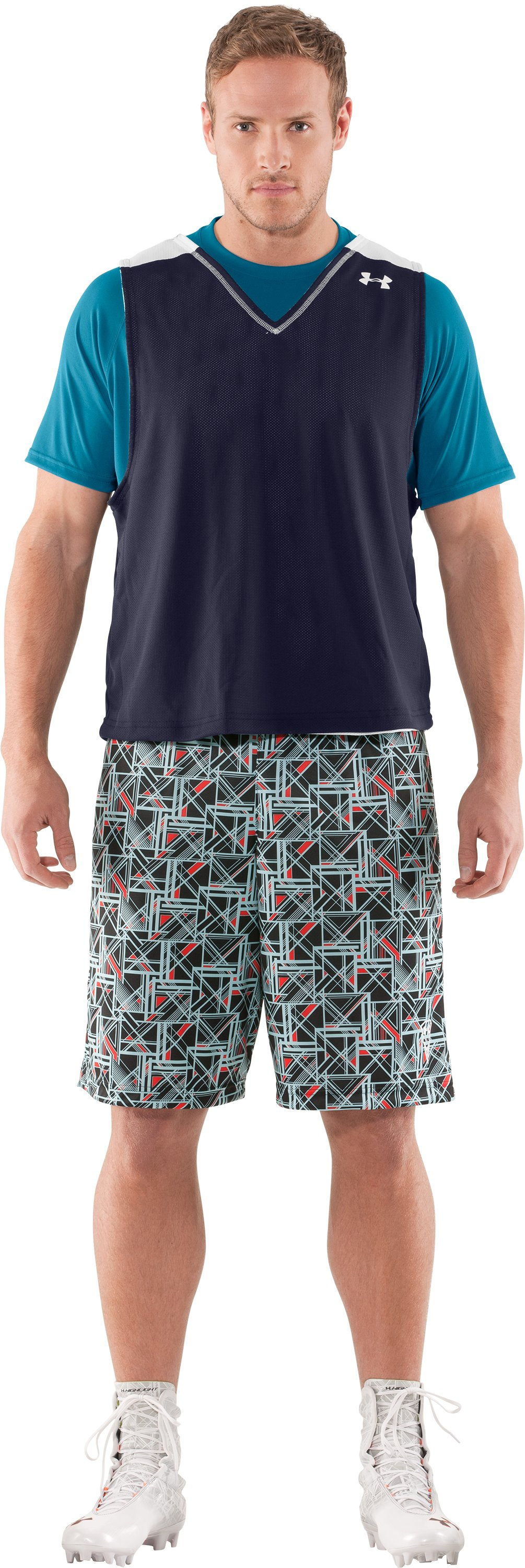 "Men's UA Howie Dewdat 10"" LAX Shorts, Black , zoomed image"