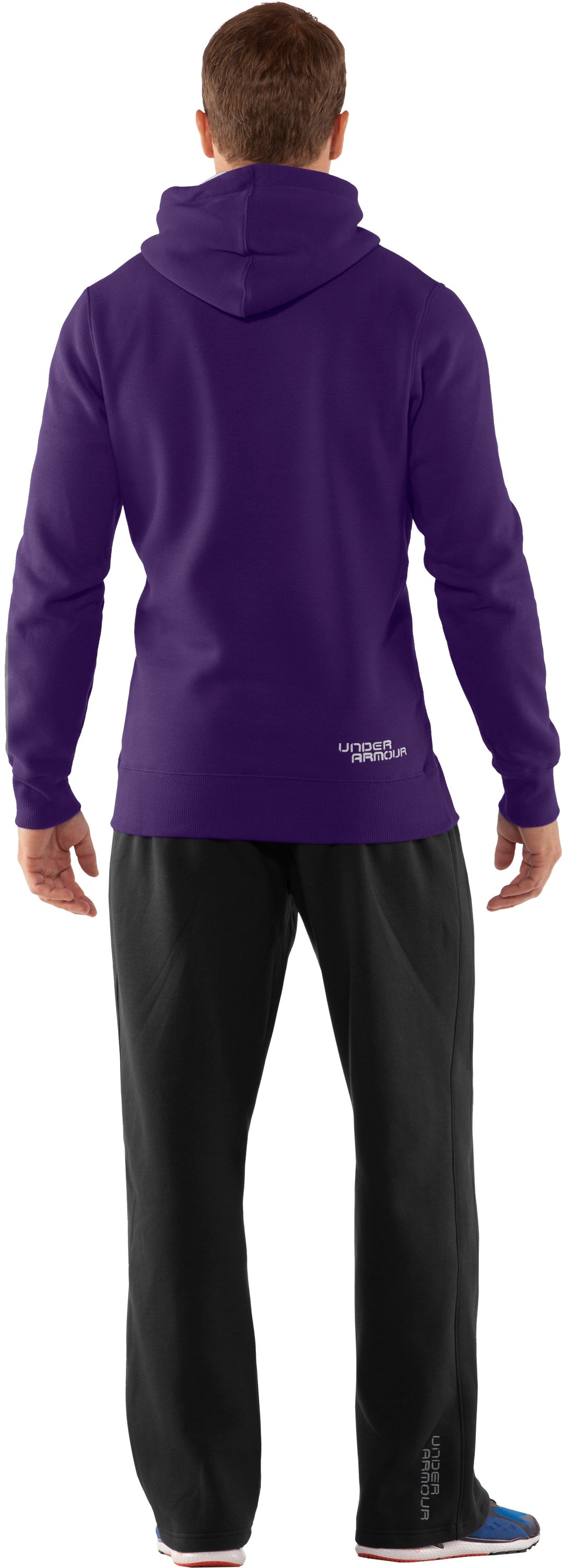 Men's Charged Cotton® Storm Pullover Hoodie, Zone, Back
