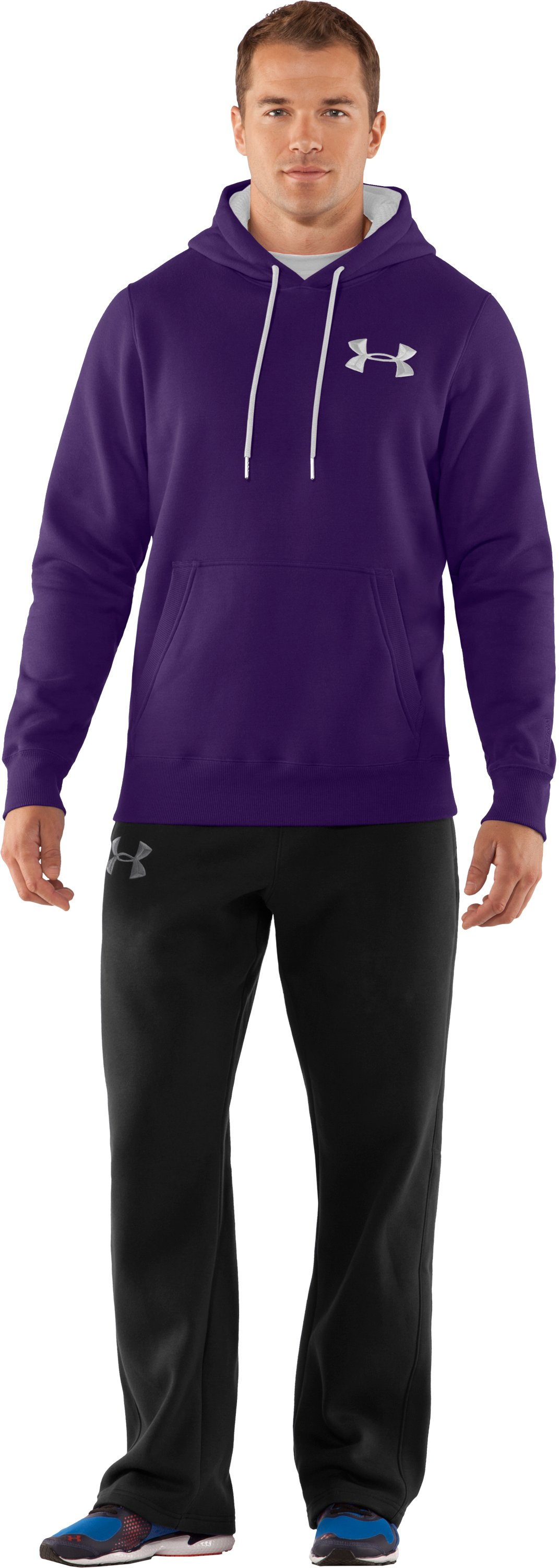 Men's Charged Cotton® Storm Pullover Hoodie, Zone, Front