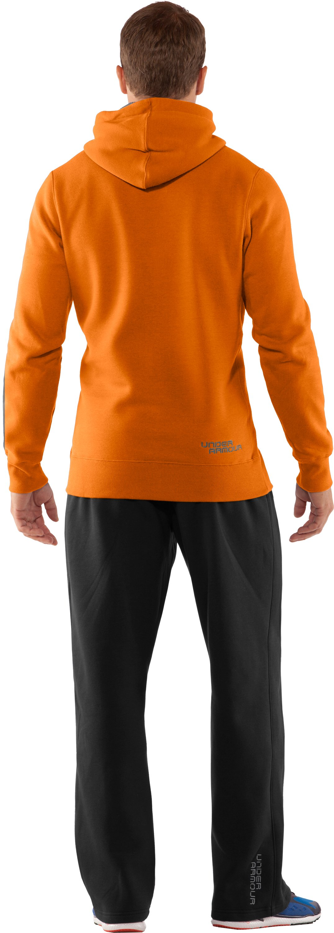 Men's Charged Cotton® Storm Pullover Hoodie, Radiate, Back