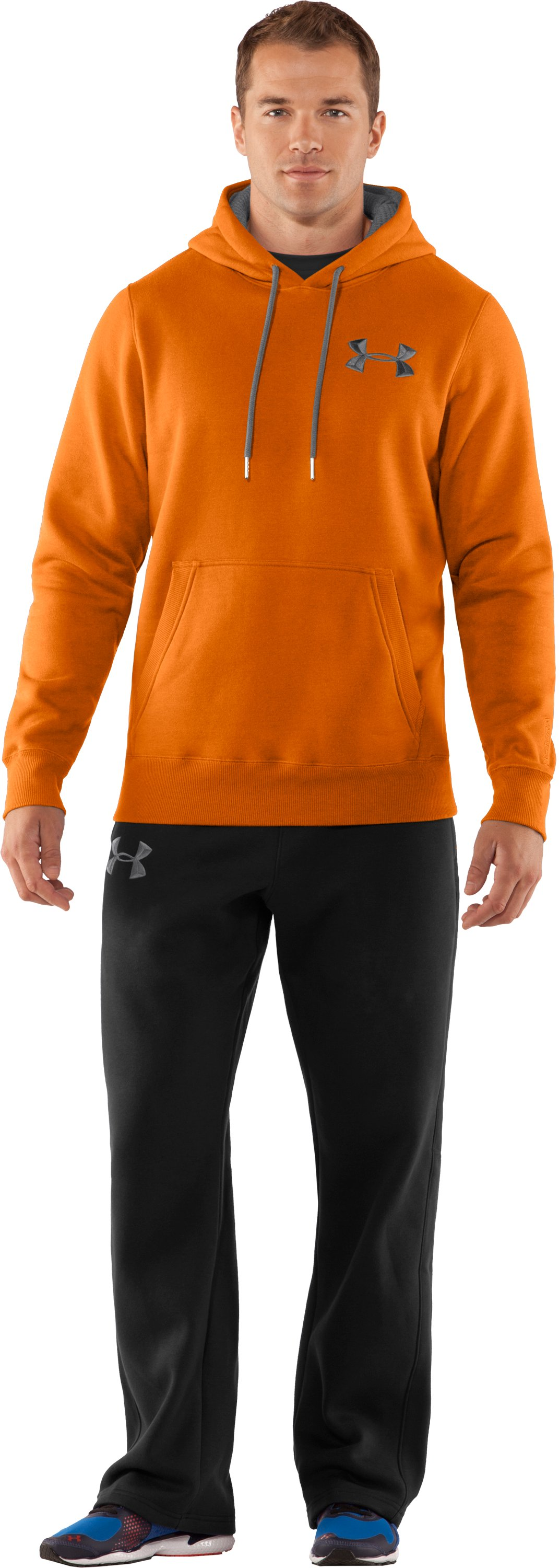Men's Charged Cotton® Storm Pullover Hoodie, Radiate, Front