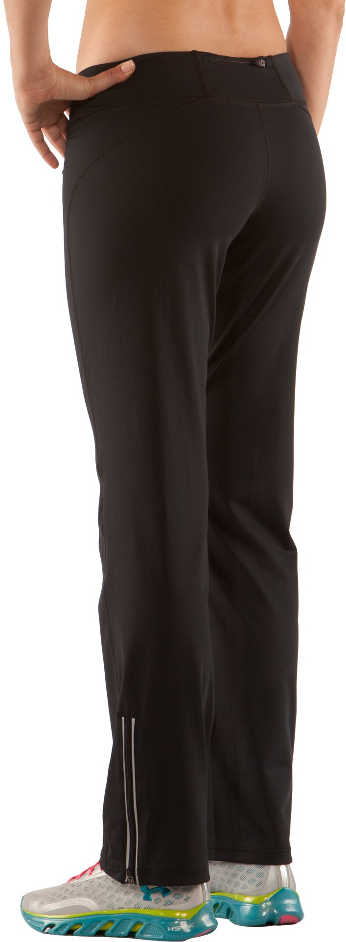 Women's UA AllSeasonGear® Run Fitted Pant, Black