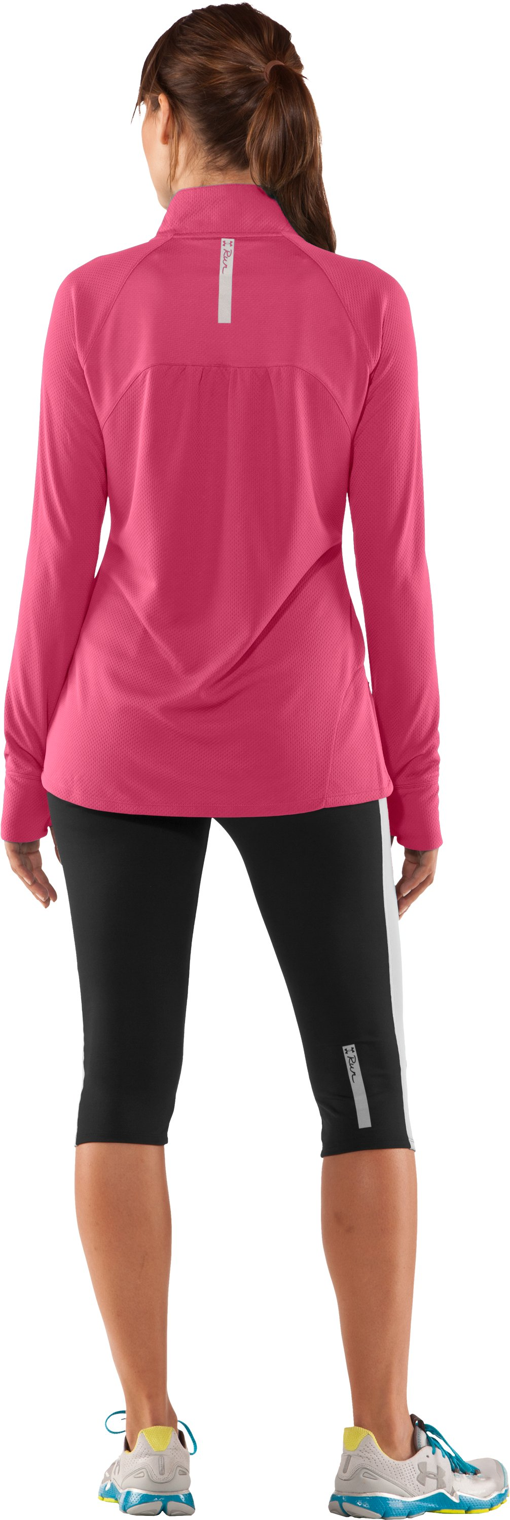 Women's UA PIP® Escape Lightweight ¼ Zip II, Ultra, Back
