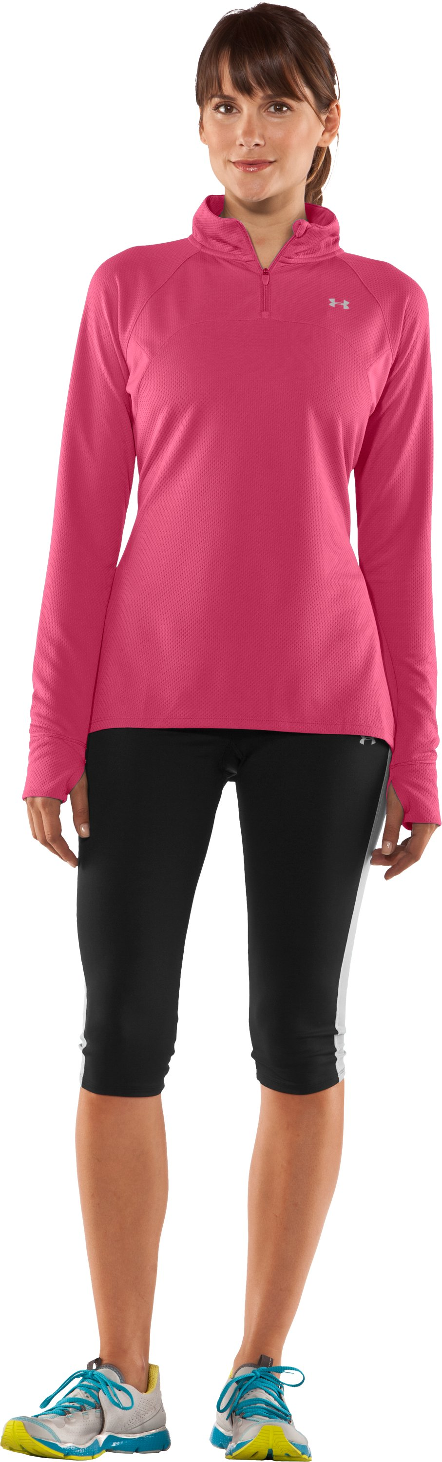 Women's UA PIP® Escape Lightweight ¼ Zip II, Ultra, Front
