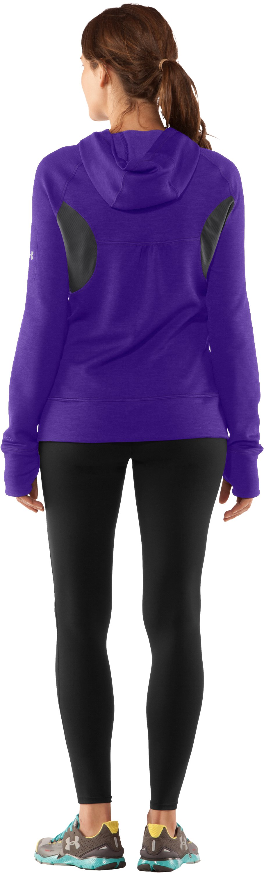 Women's UA Storm Fleece Full Zip, Zone, Back