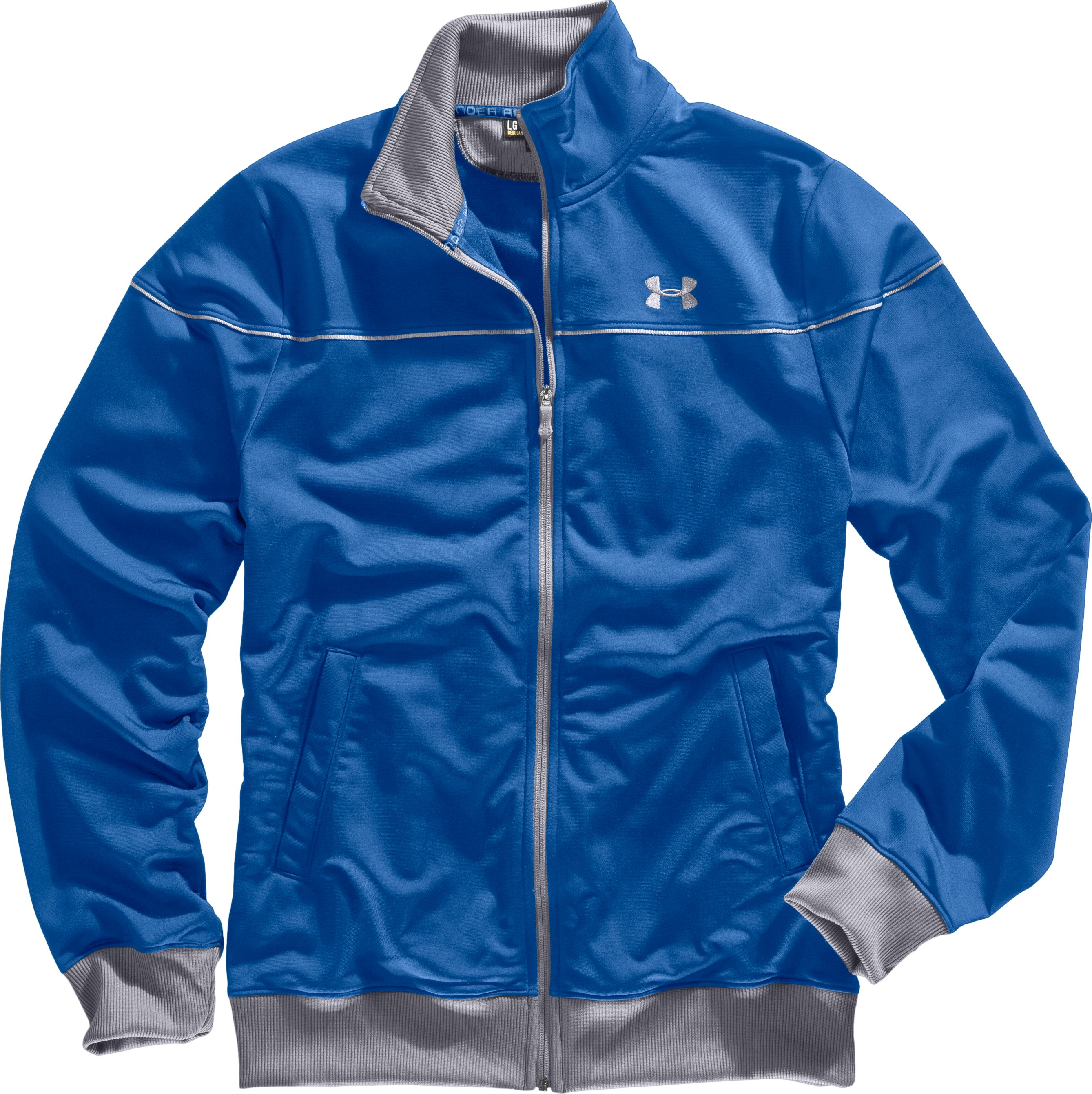 Men's UA Strength Track Jacket, Squadron, Laydown
