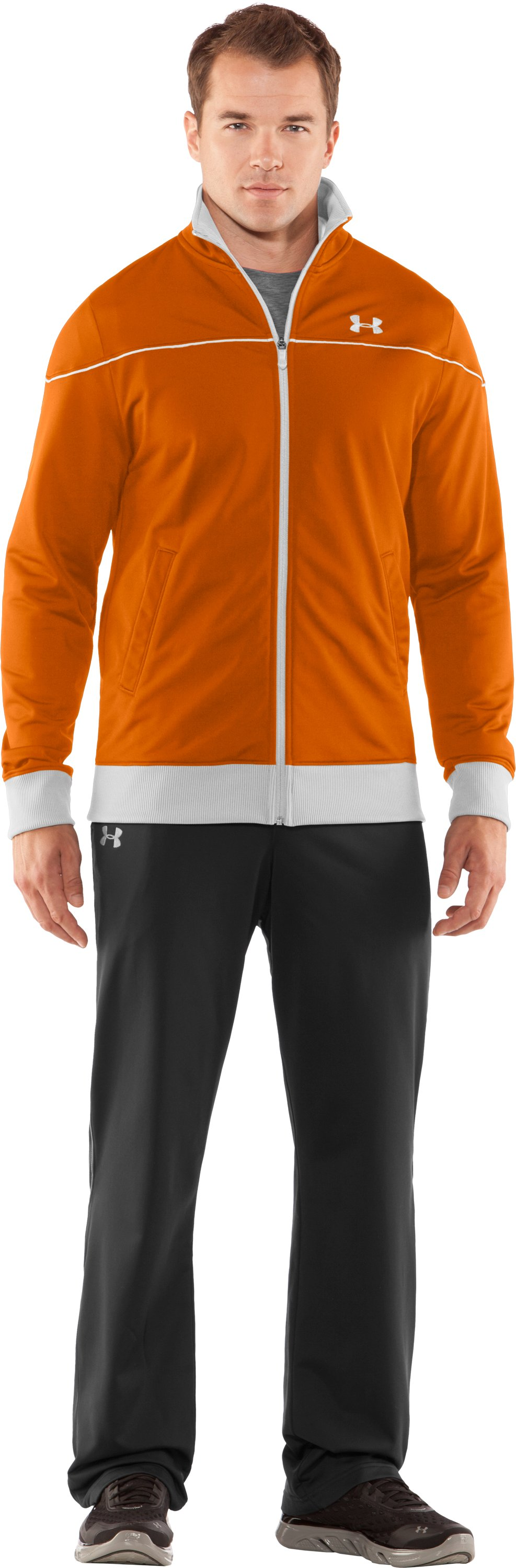 Men's UA Strength Track Jacket, Radiate, Front