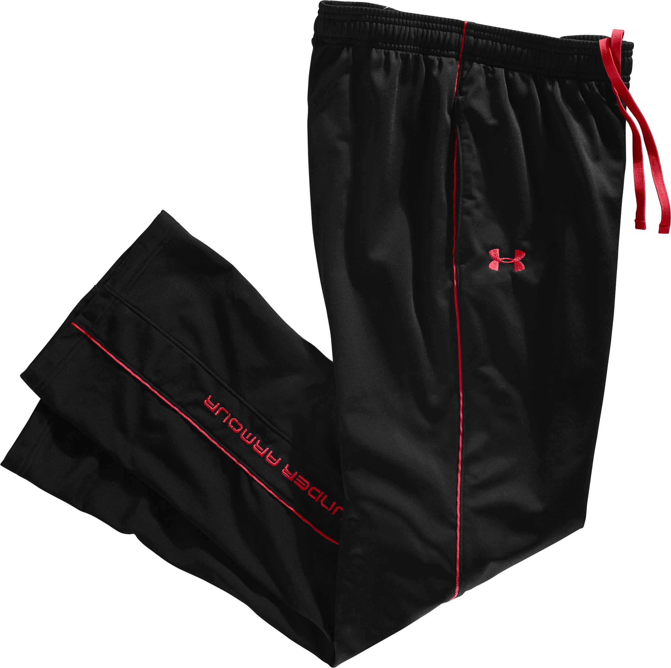 Men's UA Strength Track Pants, Black , Laydown