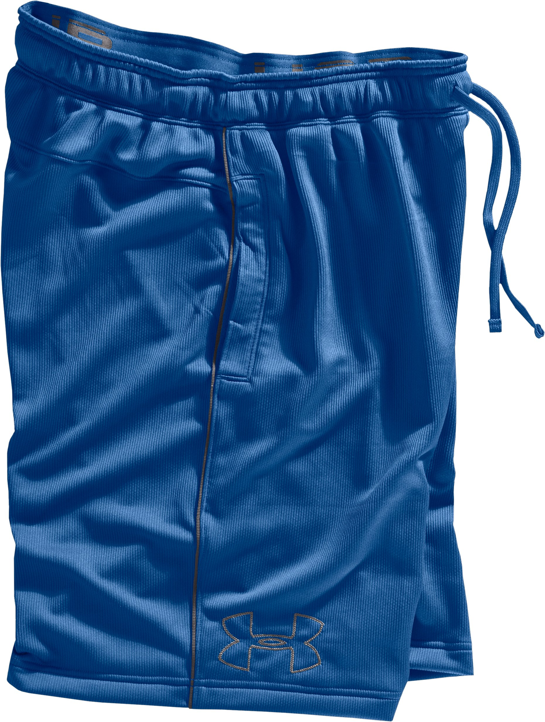 Men's UA Motion Shorts, EMPIRE BLUE, Laydown