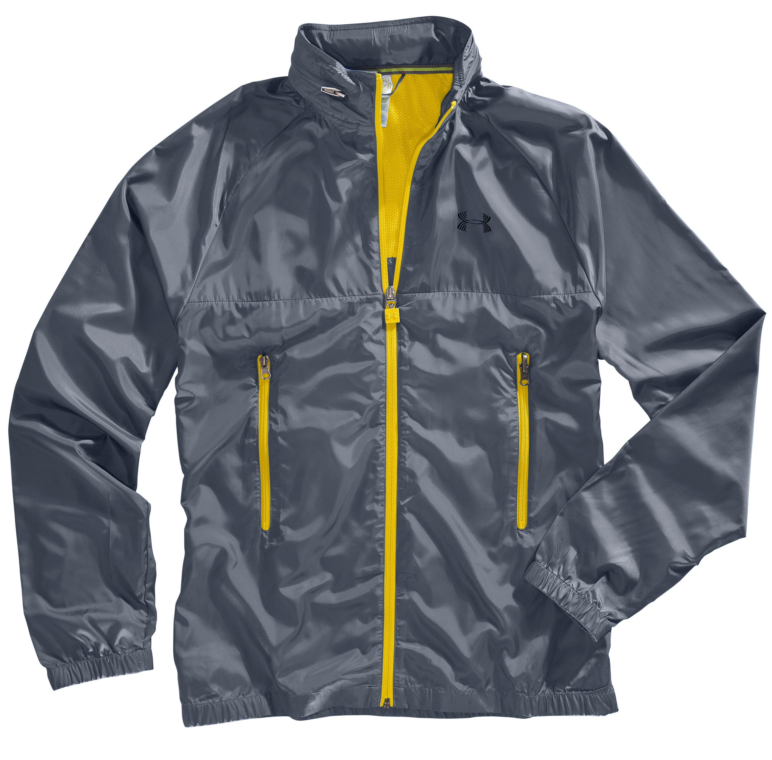 Men's UA Catalyst Lightweight Wind Jacket, Taxi, Laydown