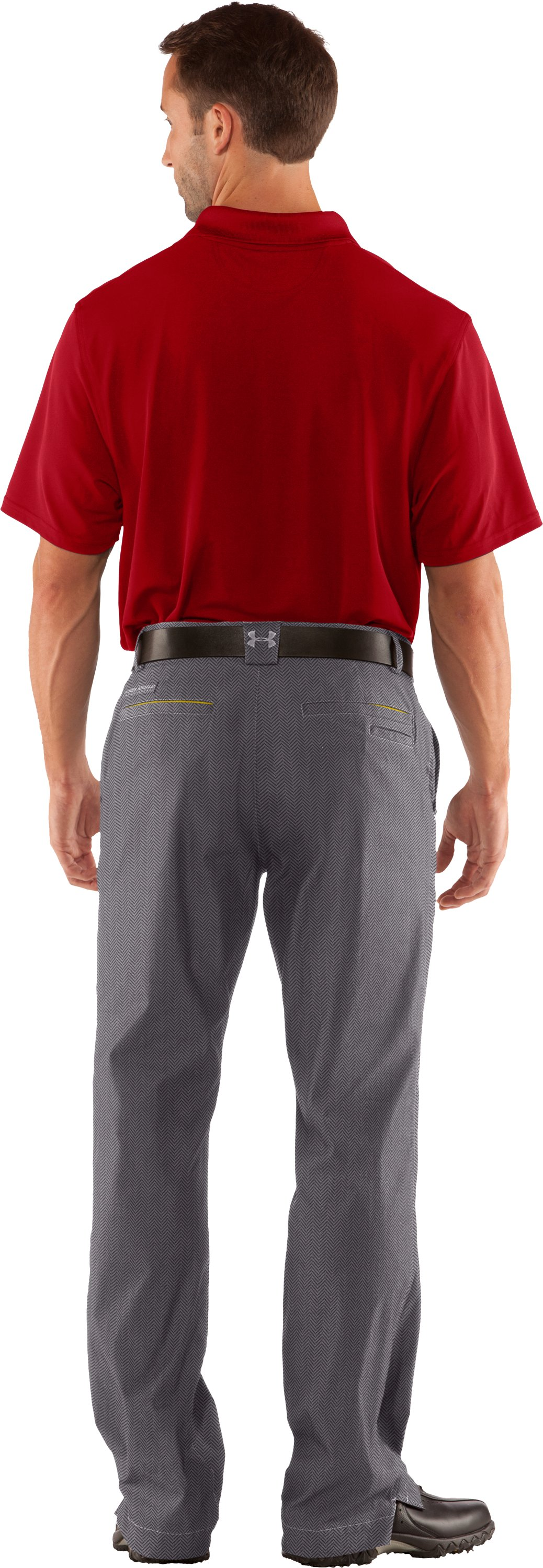 Men's AllSeasonGear® Storm Golf Pants, Concrete, Back