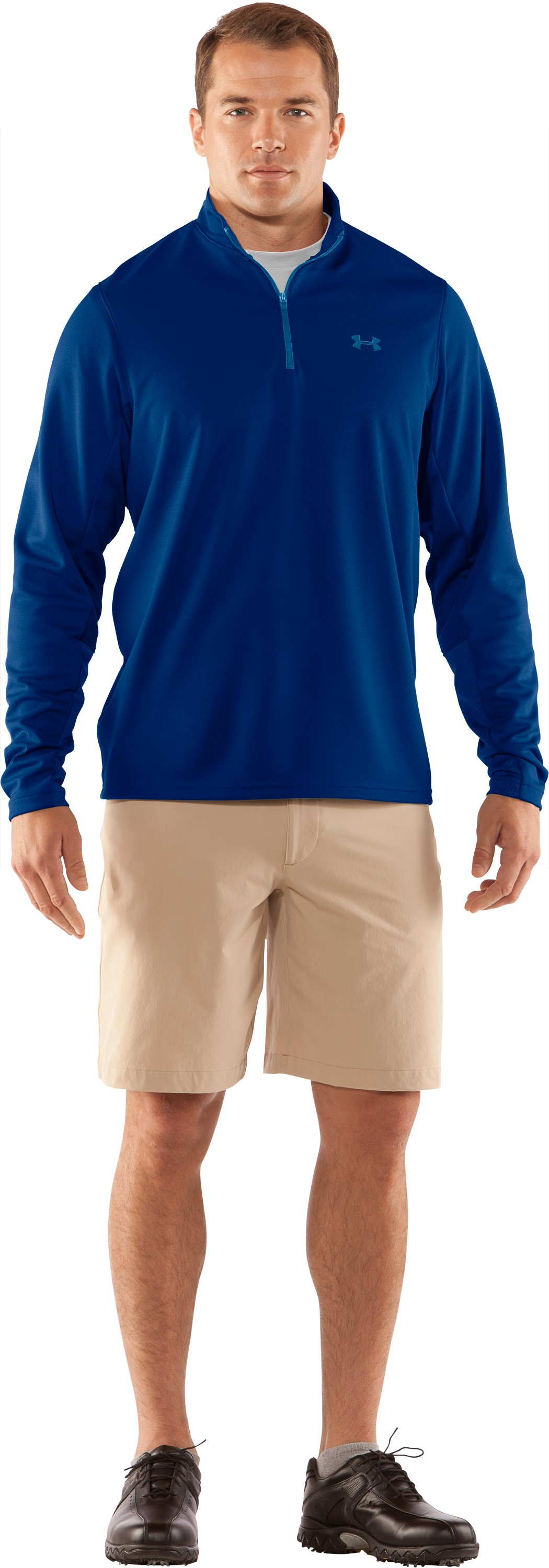 Men's AllSeasonGear® ¼ Zip Golf Jacket, EMPIRE BLUE