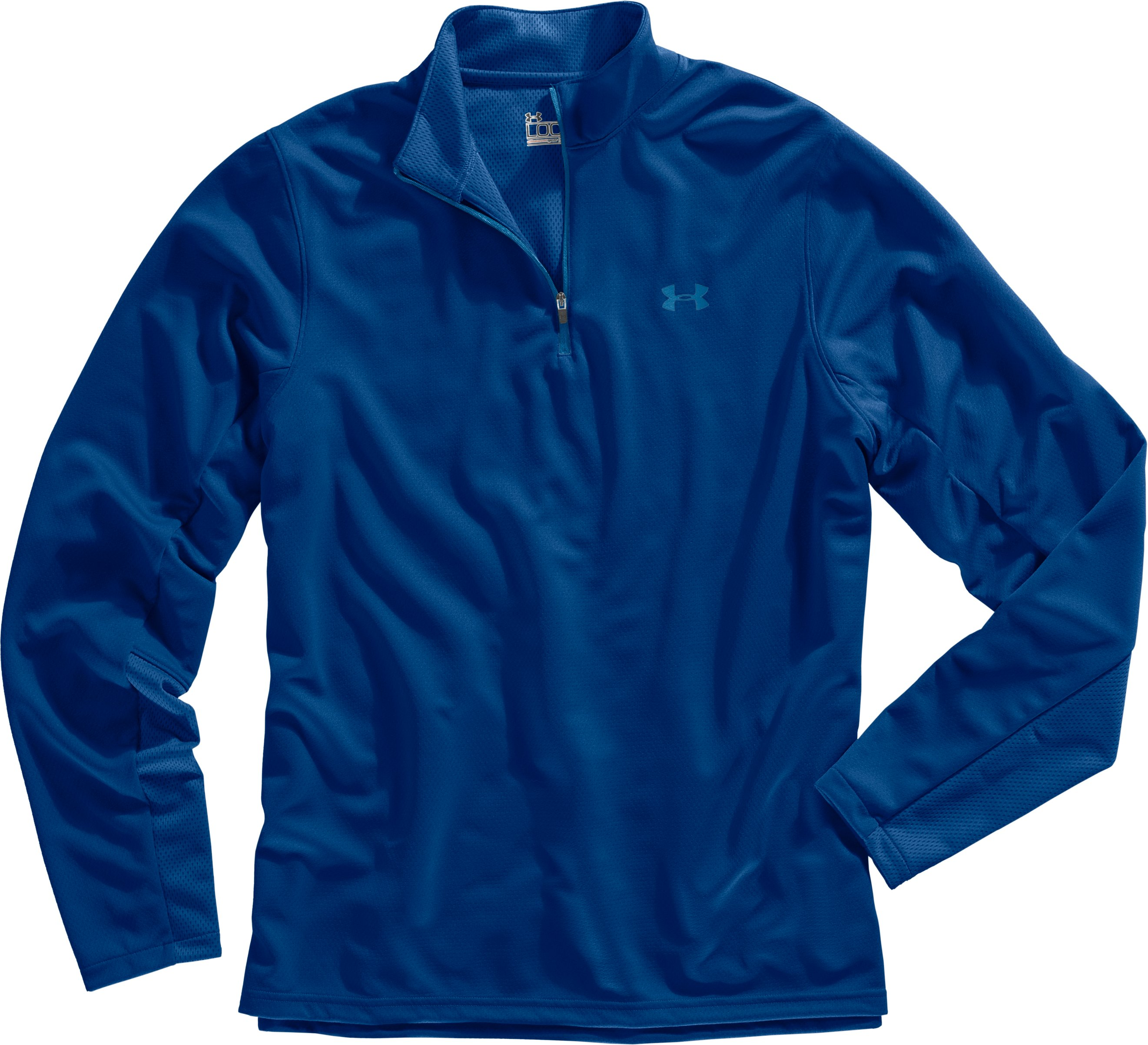 Men's AllSeasonGear® ¼ Zip Golf Jacket, EMPIRE BLUE, Laydown