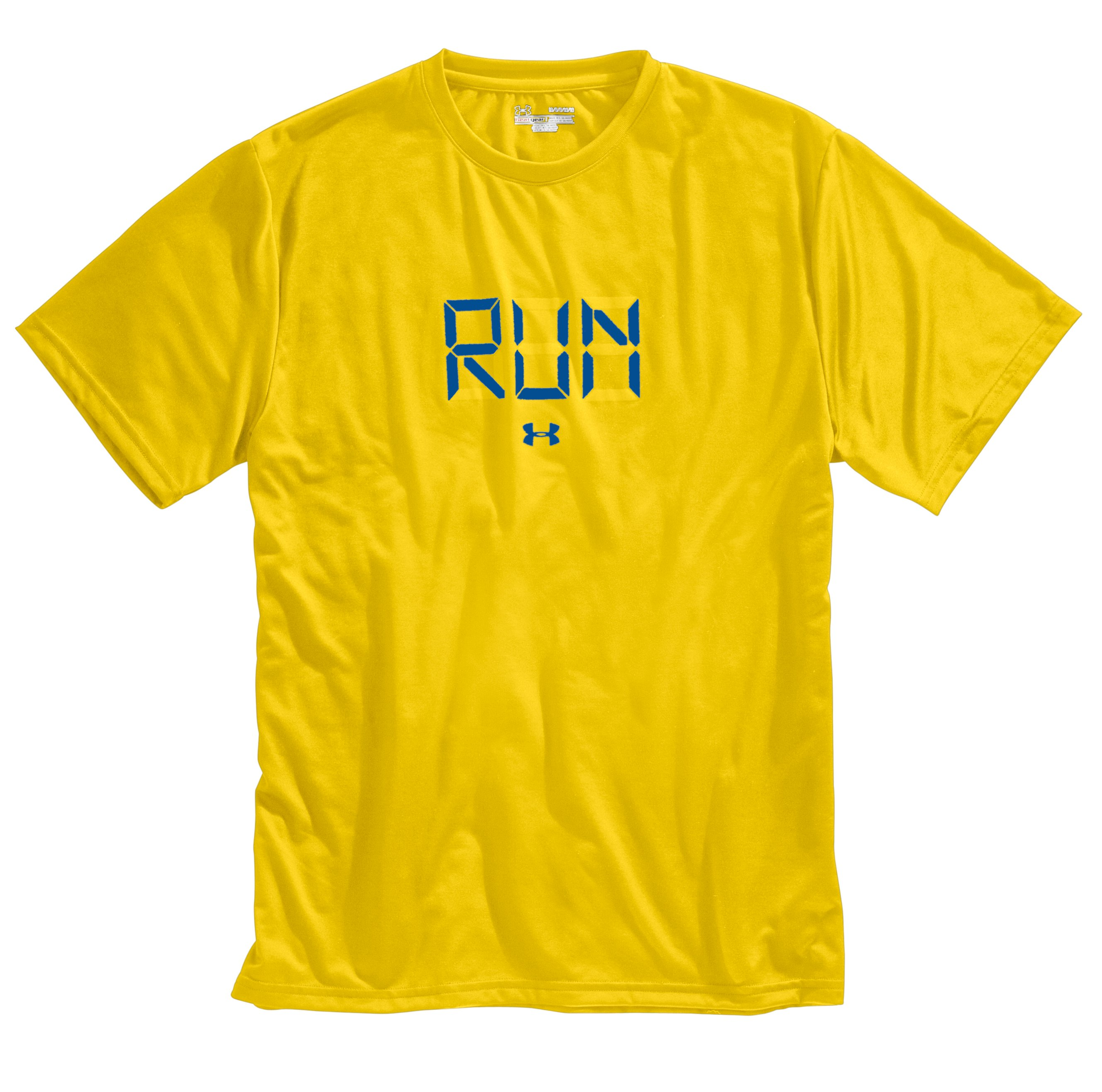 Men's UA Run Digital Graphic T-Shirt, Taxi, Laydown