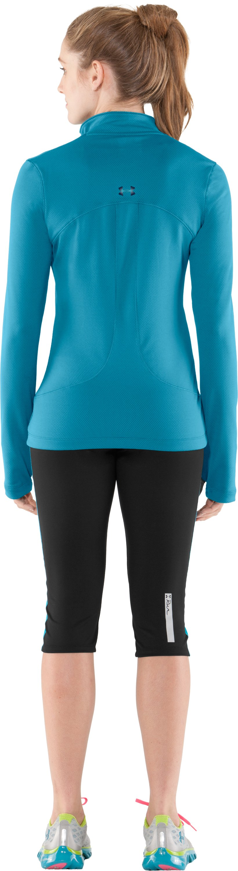 Women's ColdGear® Thermo ¼ Zip, Break, Back