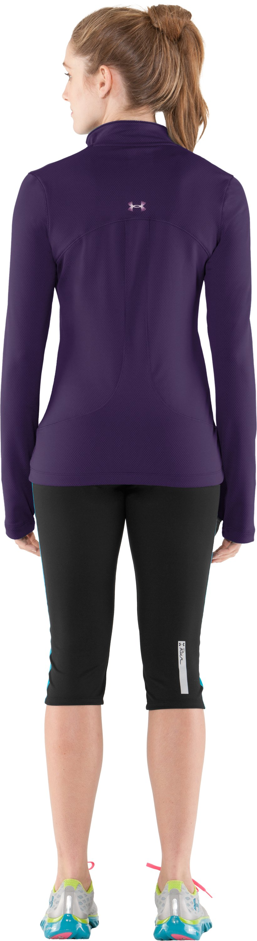 Women's ColdGear® Thermo ¼ Zip, Zone, Back