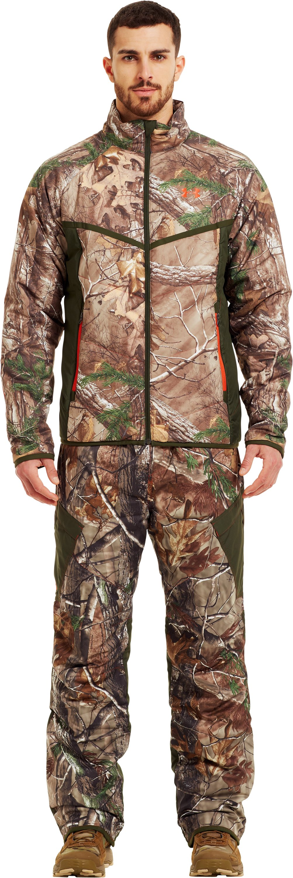 Men's ColdGear® Infrared Ridge Reaper® Primaloft® Jacket, REALTREE AP-XTRA, zoomed image
