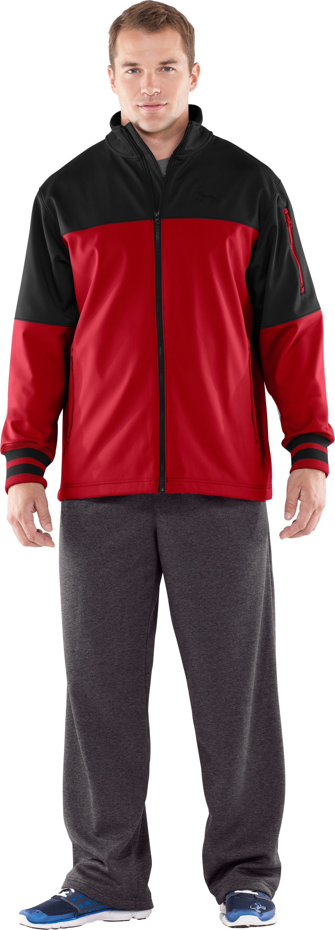 Men's UA Contender Storm Softshell Jacket, full size