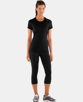 New to Outlet Women's HeatGear® Sonic Short Sleeve   $18.99