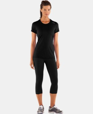 New to Outlet Women's HeatGear® Sonic Short Sleeve  1 Color $14.24