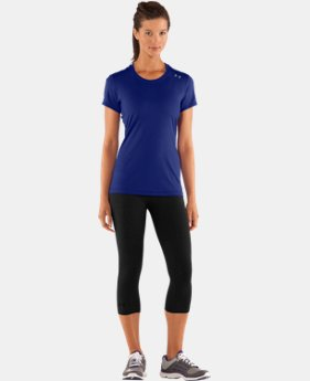 Women's HeatGear® Sonic Short Sleeve