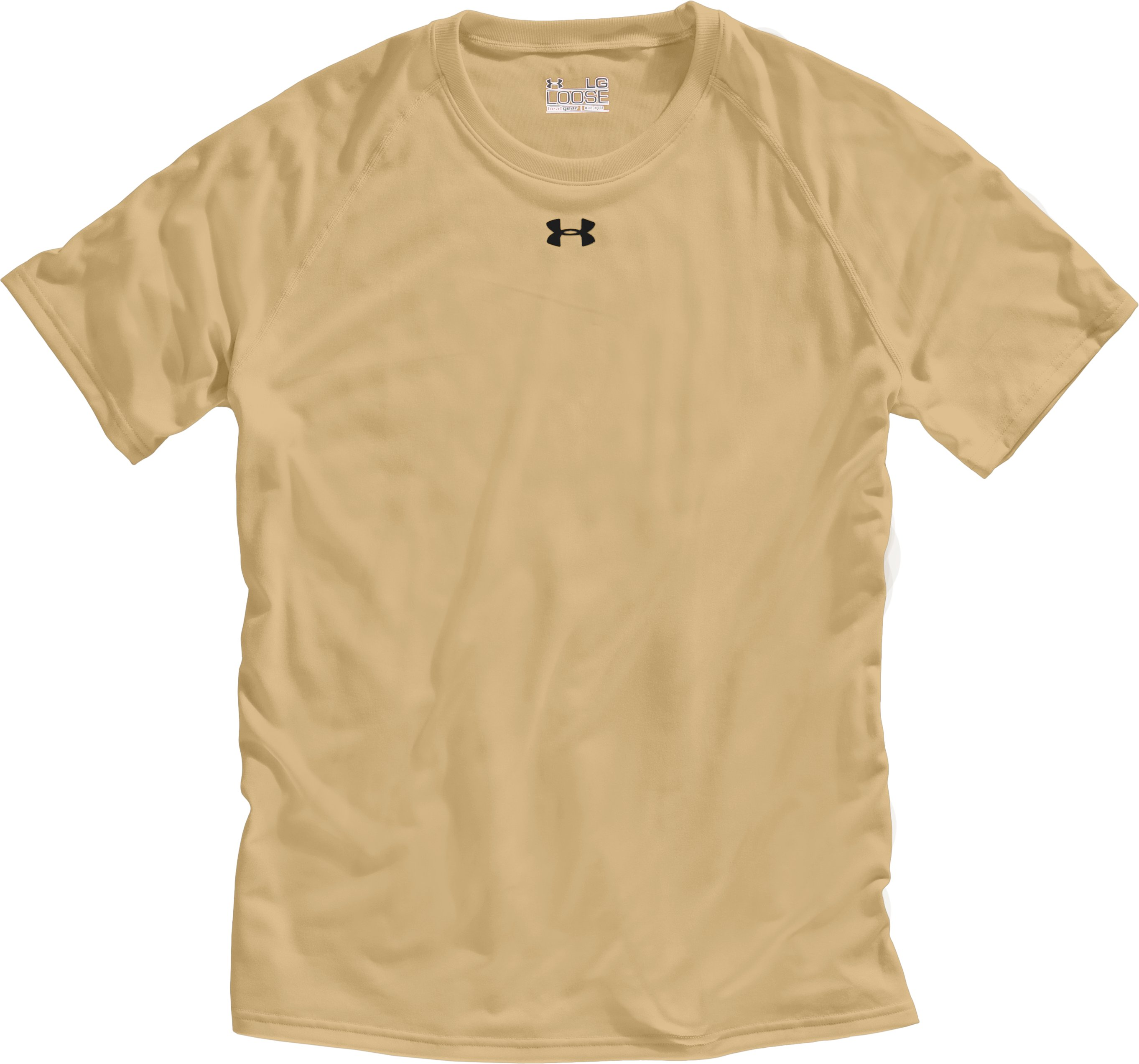 Men's UA Locker T-Shirt, Vegas Gold, Laydown